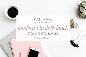 Modern Blush+Black Stock Bundle