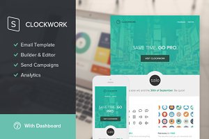 Clockwork Email Template + Builder