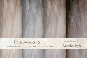 Paintworks 16 Photoshop Backgrounds