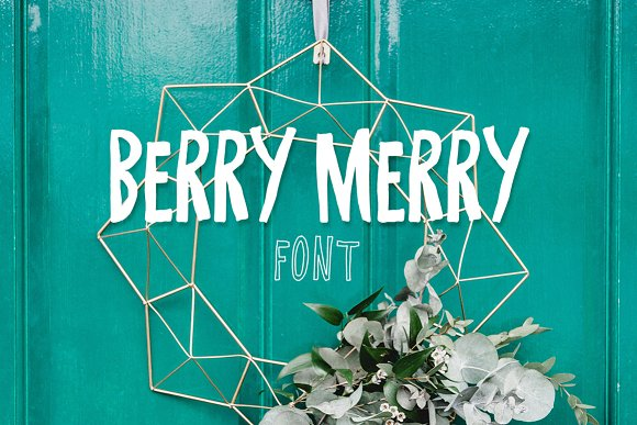 Berry Merry Font