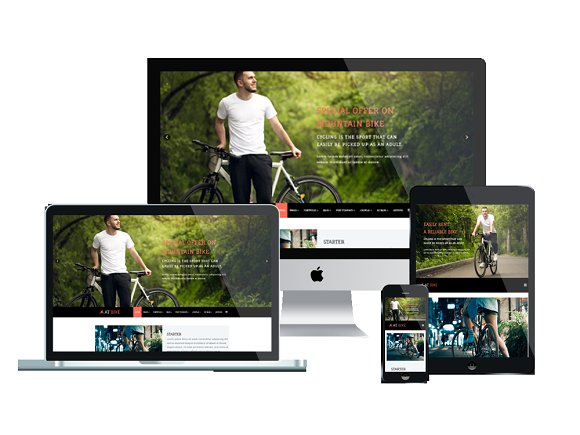 AT Bike Bike Joomla Template