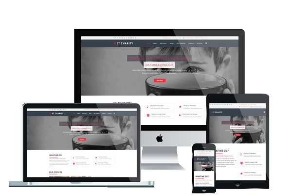 WordPress Non-Profit Themes: Engine Templates - ET Charity – Charity WordPress Theme