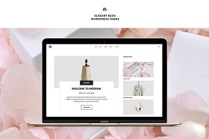 Modena Elegant Blog WordPress Theme