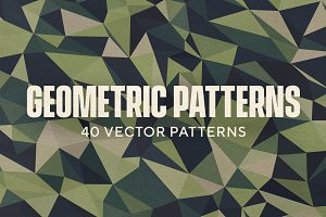 40 Geometric Vector Patterns