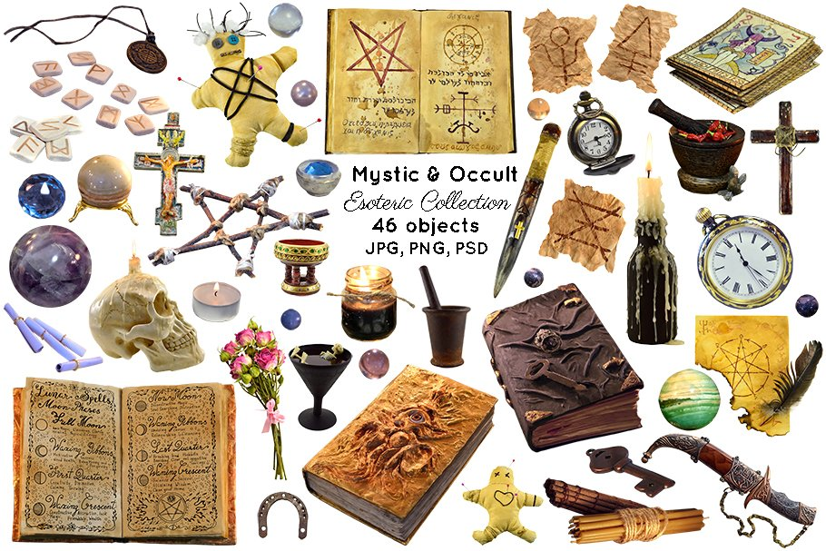 Magic and occult objects
