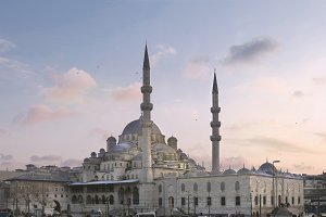 Blue mosque sunset.jpg