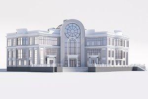 Classical public building