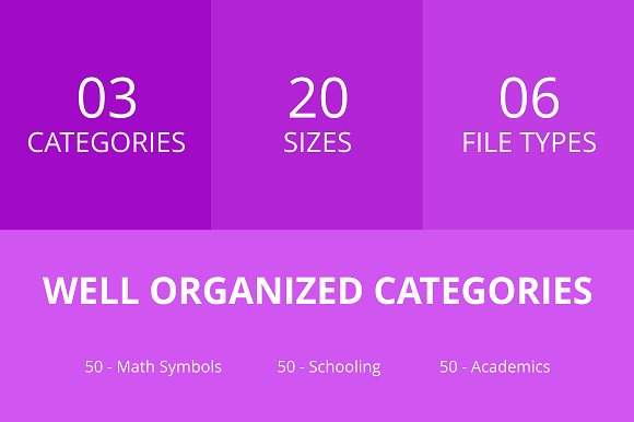 150 Academics Line Icons in Graphics - product preview 2