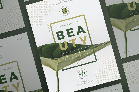 Posters | Beauty Salon in Flyer Templates