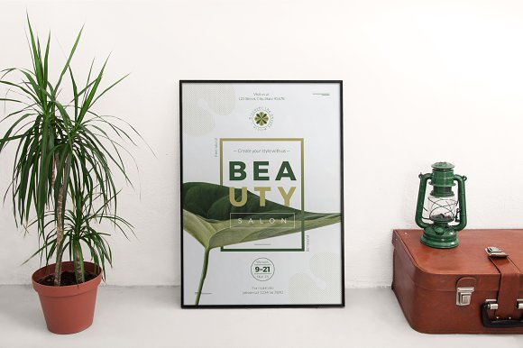 Posters | Beauty Salon in Flyer Templates - product preview 2