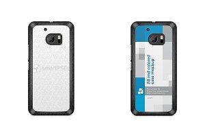HTC M10 2d IMD Colored Mobile Case