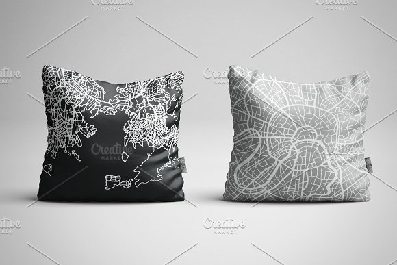 52 Hand Drawn Maps Set in Illustrations - product preview 3