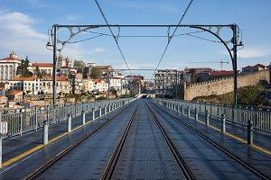 Dom Luiz I Bridge in Porto
