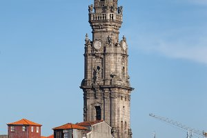 Clerigos Church Bell Tower in Porto