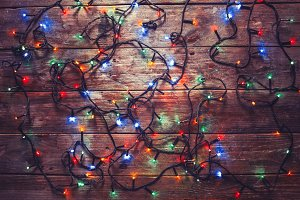 Colorful New Year Electric Garland O