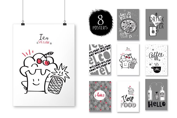 KITCHEN ( big graphic pack) in Illustrations - product preview 2