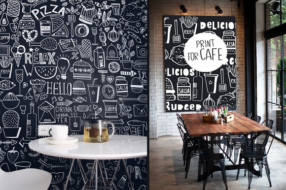 KITCHEN ( big graphic pack) in Illustrations - product preview 5