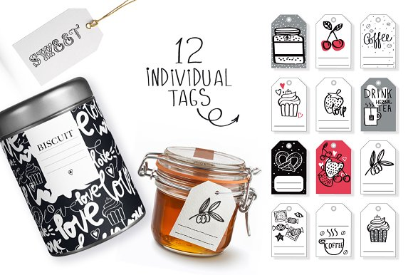 KITCHEN ( big graphic pack) in Illustrations - product preview 6