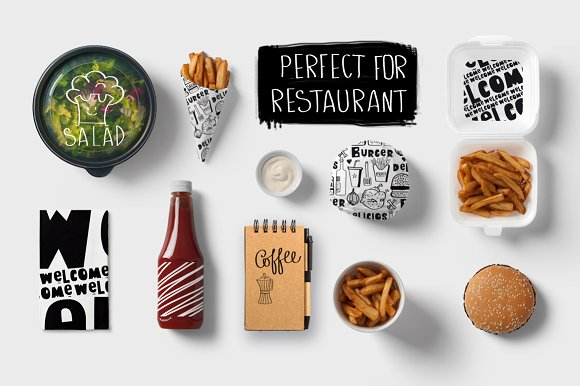 KITCHEN ( big graphic pack) in Illustrations - product preview 10