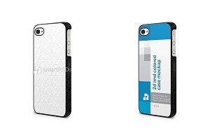 Apple iPhone 4-4s 2d IMD ColoredCase