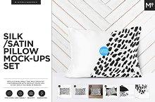 Satin / Silk Pillow Mock-ups Set