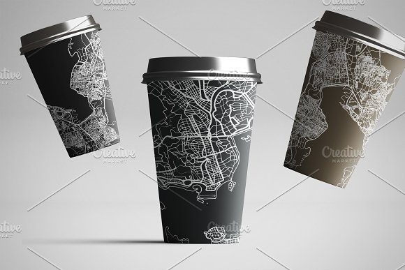 52 Hand Drawn Maps Set in Illustrations - product preview 5