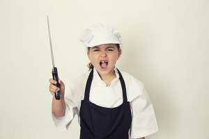 Little angry chef