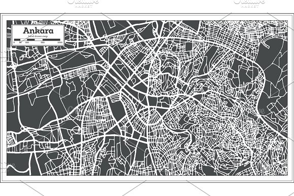 52 Hand Drawn Maps Set in Illustrations - product preview 7