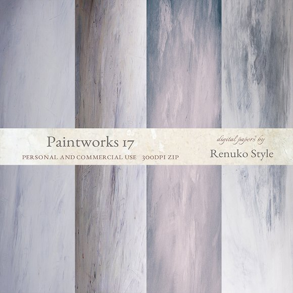 Paintworks 17 Photoshop Backgrounds