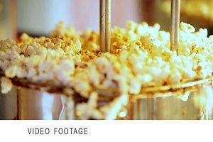Popcorn making.