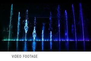 Dancing fountain.