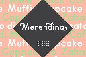 Merendina - 12 fonts