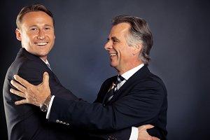 The Business Hug