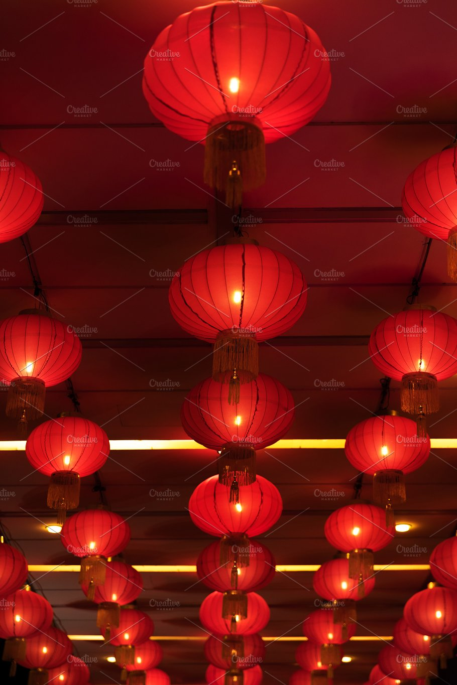 chinese new year lanterns holidays - Chinese New Year Lanterns