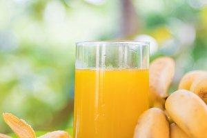 banana fruit juice