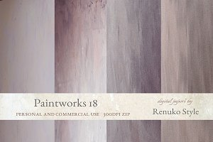 Paintworks 18 Photoshop Backgrounds