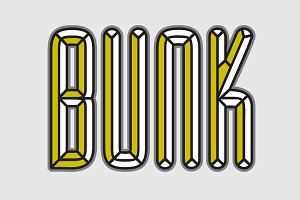 BUNK Layer Kit Font Pack $PECIAL$$