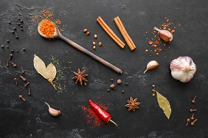 herbs spices and condiments