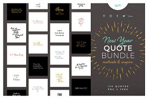 New Year Quote Bundle