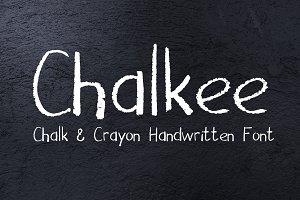 Chalk & Pencil Handwritten Font