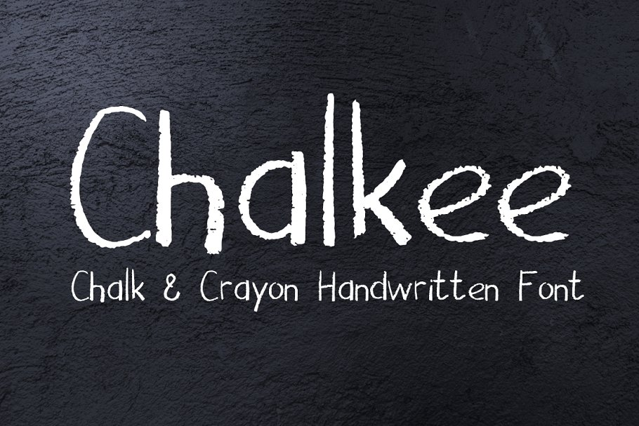 Chalk & Pencil Handwritten Font