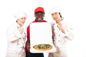 Chefs Are Happy With This Pizza Service