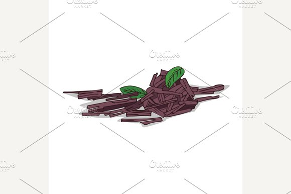 Isolated clipart Sandalwood