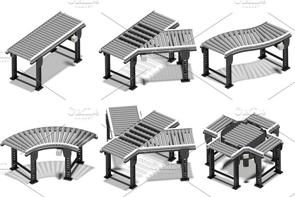 Conveyors in Illustrations