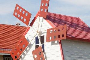 house decor wind turbines.