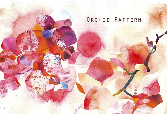 Orchid Pattern in Patterns