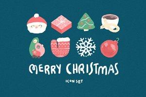 Merry Christmas! PSD Icon set