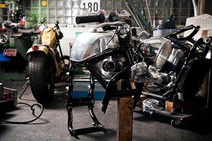 Motorcycle Designer Building A New Bike