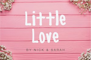 Little Love - Cute Handwritten Font