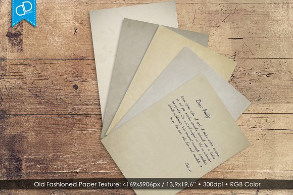 Old Fashioned Paper Texture